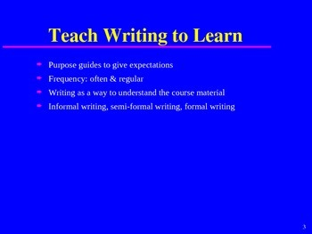 FREE Getting Students to Write Without Overwhelming the Teacher