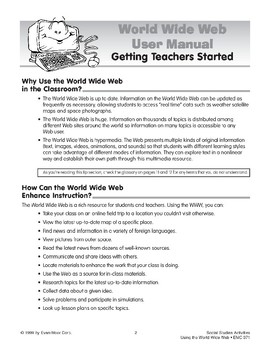 Getting Teachers Started on the World Wide Web