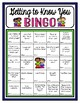 Getting To Know Someone New Poster AND BINGO Activity (Adapted from Open Circle)