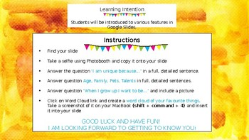 Getting To Know You / Back to School