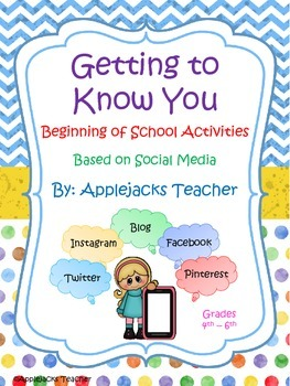 Getting To Know You Activities - Using Social Media