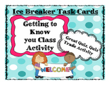 Getting To Know You Activity