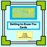 Getting-To-Know-You Cards