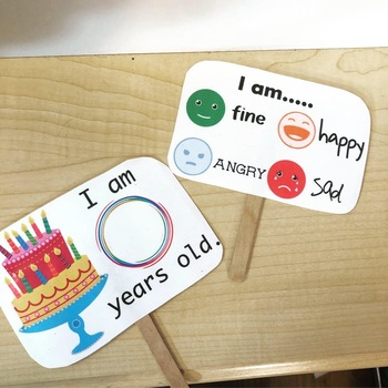 Getting To Know You - ESL Greeting Cards