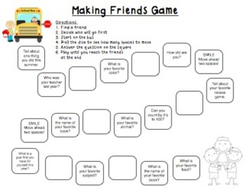 Getting To Know You - Friends Edition
