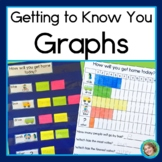 Getting To Know You Graphs (Horizontal and Vertical Graphs for Back to School)