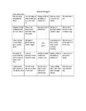 Getting To Know You Math Bingo