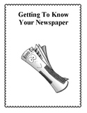 Getting To Know Your Newspaper, Activities and Worksheets