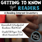 Getting To Know Your Readers: A Reading Interest Inventory