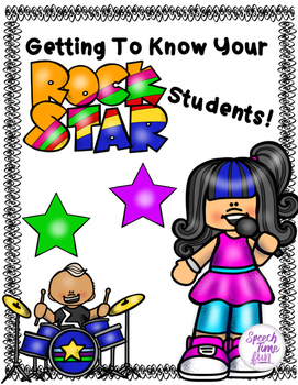Getting To Know Your Rock Star Students
