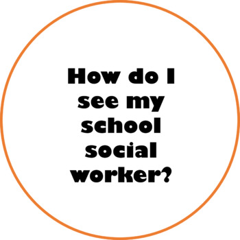 Getting To Know Your School Social Worker Tic-Tac-Toe Game