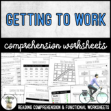 Unit 8 Getting To Work - Reading Comprehension & Functional Worksheets