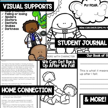Getting Up After We Fall - Character Education   Social Emotional Learning SEL