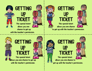 Getting Up Tickets