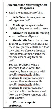 4th Grade Test Prep - Getting Writers Ready for NY State Test/ TCRWP