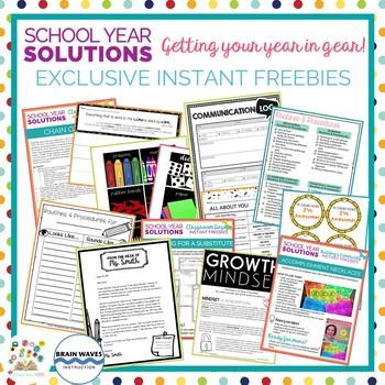 Getting Your Year in Gear (SUMMER TEACHER CHALLENGE!)