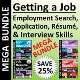 Getting a Job Activities Megabundle SAVE 32%