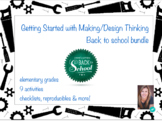 Getting started with Making, Design Thinking