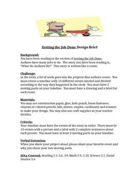Getting the Job Done! STEM Children's Engineering Design Brief