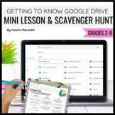 Getting to Know Google Drive {Mini Lesson & Scavenger Hunt}