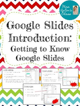 Teaching Students to Use Google Slides