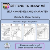 Getting to Know Me:  Self-awareness and character