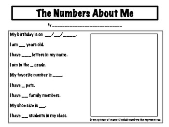 Getting to Know Me with Numbers