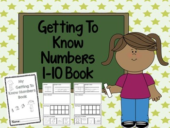 Getting to Know Numbers 1-10 Book