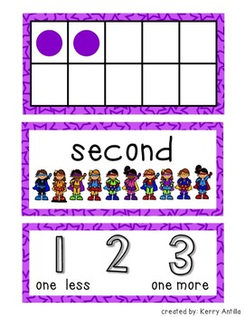 Getting to Know Numbers 1-30