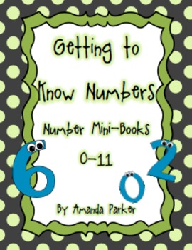 Getting to Know Numbers Mini-Books