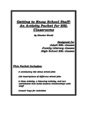 Getting to Know School Staff:  An Activity Packet