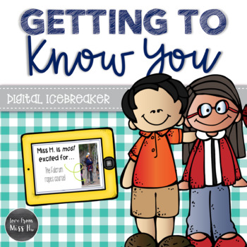 Back to School Activity: Getting to Know You