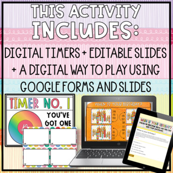 Getting to Know You // A Back to School Activity -- EDITABLE too!