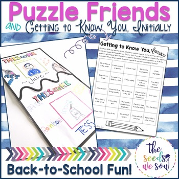 Back to School: Getting to Know You Activities