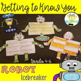 Getting to Know You First Days of School Activity