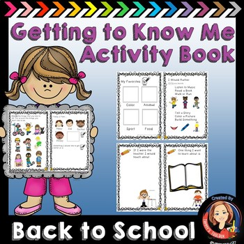 Getting to Know You Activity Book