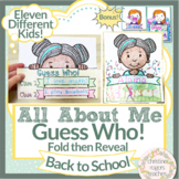 Back to School Mask Poster Getting to Know You Activity Me