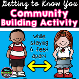 Getting to Know You Activity for Social Distancing   First