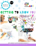 Getting to Know You Art Lesson with Oodles of Printables/W