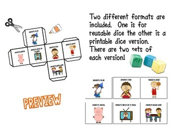 Getting to Know You - Back To School Team Building Dice Activity