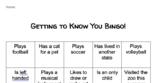 Getting to Know You Bingo!