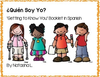 """Getting to Know You"" Booklet:  Spanish"