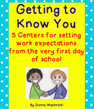 Getting to Know You Centers