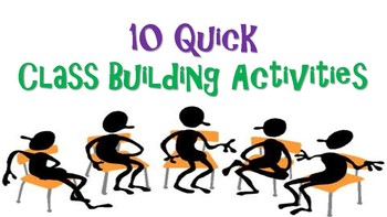 Getting to Know You Class Building Activities 10 Quick Class Building Warm-Ups!