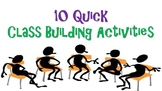 Getting to Know You Class Building Activities 10 Quick Cla