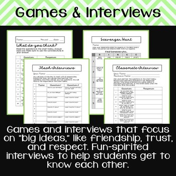 Getting-to-Know-You Community-Building Activities for Secondary Students