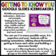 Getting to Know You Conversation Icebreakers BUNDLE Google Slides - 180 Prompts