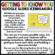 Getting to Know You Conversation Icebreakers Part 1 Google Slides - 90 Prompts