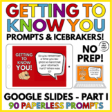 Getting to Know You Conversation Icebreakers Part 1 Google