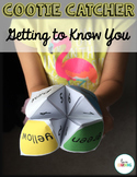 """""""Getting to Know You"""" Cootie Catcher"""